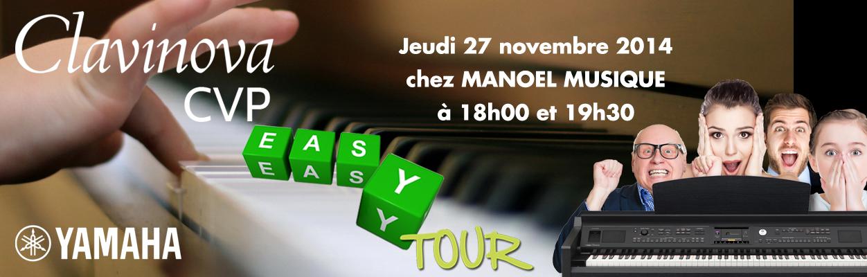 easy tour clavinova