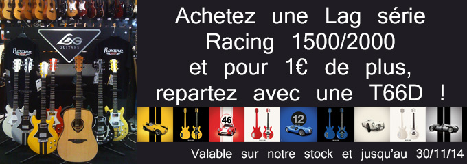 offre guitare lag racing