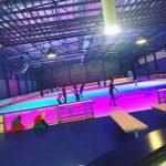 Installation patinoire de pont de vaux
